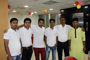 South Bangla Computers was throwing a party for Cisco & Rosenberger product promotion